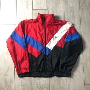 Vintage USA Olympics Windbreaker Zip Track Jacket